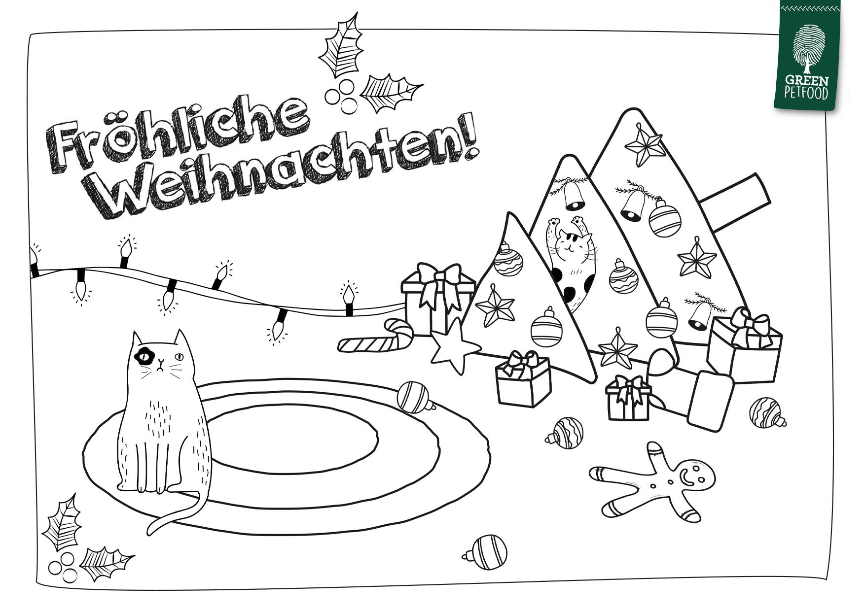 DIY-Adventskalender Türchen  green-petfood.de