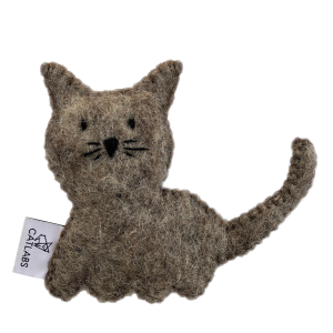 CATLABS Katzenspielzeug – Katze mit Bio-Katzenminze
