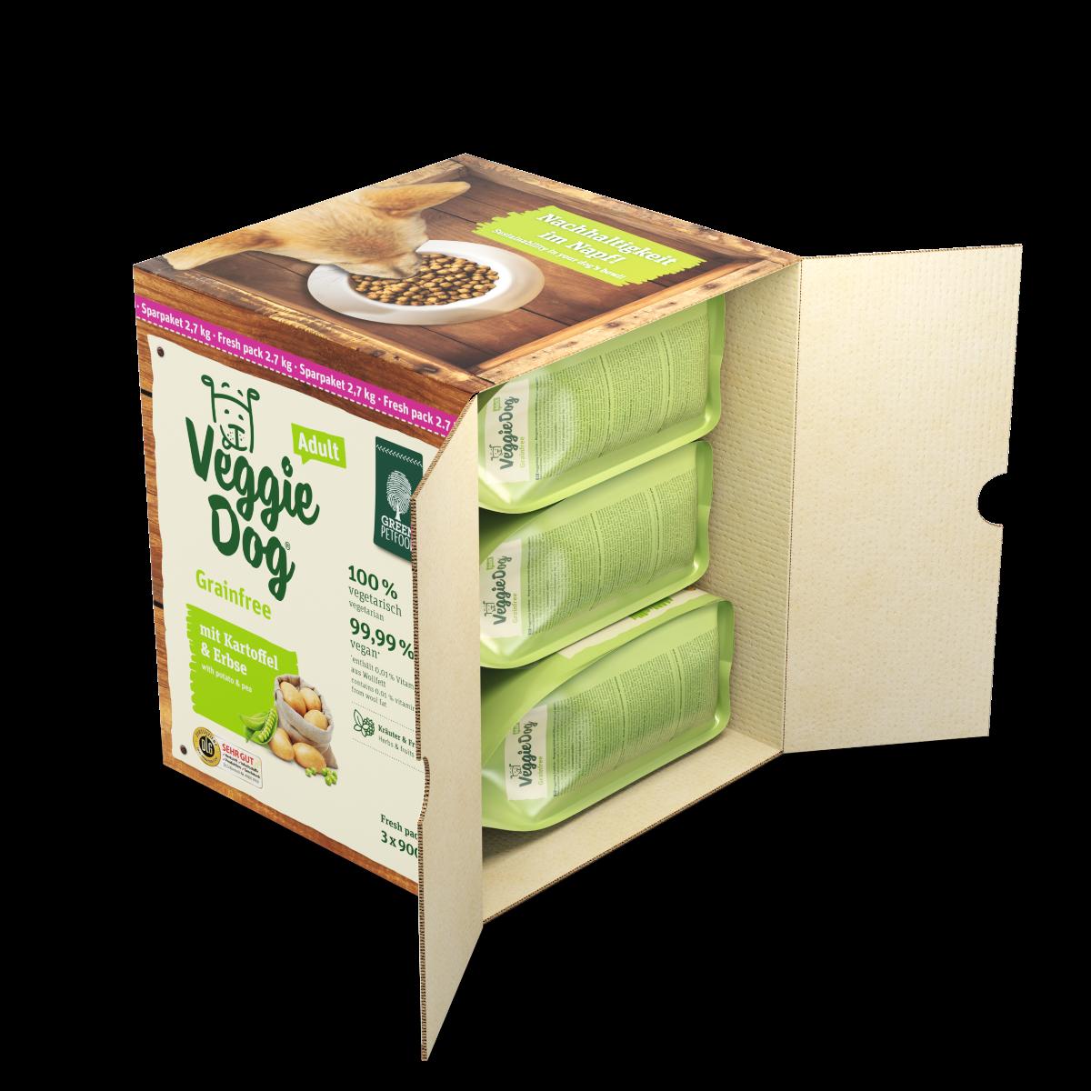 Green Petfood VeggieDog grainfree 2,7 kg