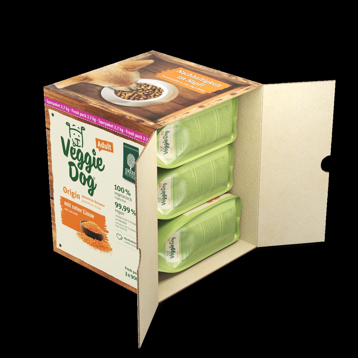 Green Petfood VeggieDog Origin 2,7kg